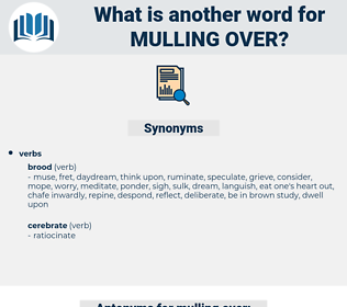 mulling over, synonym mulling over, another word for mulling over, words like mulling over, thesaurus mulling over
