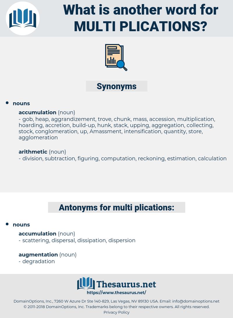 multi-plications, synonym multi-plications, another word for multi-plications, words like multi-plications, thesaurus multi-plications