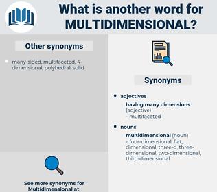 multidimensional, synonym multidimensional, another word for multidimensional, words like multidimensional, thesaurus multidimensional