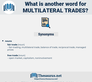 multilateral trades, synonym multilateral trades, another word for multilateral trades, words like multilateral trades, thesaurus multilateral trades