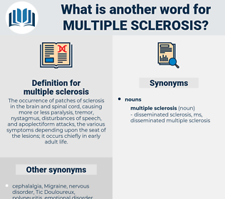 multiple sclerosis, synonym multiple sclerosis, another word for multiple sclerosis, words like multiple sclerosis, thesaurus multiple sclerosis
