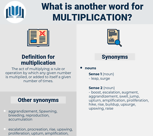 multiplication, synonym multiplication, another word for multiplication, words like multiplication, thesaurus multiplication