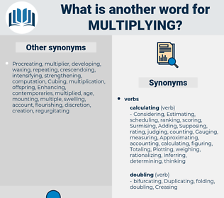 Multiplying, synonym Multiplying, another word for Multiplying, words like Multiplying, thesaurus Multiplying