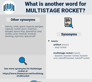 multistage rocket, synonym multistage rocket, another word for multistage rocket, words like multistage rocket, thesaurus multistage rocket