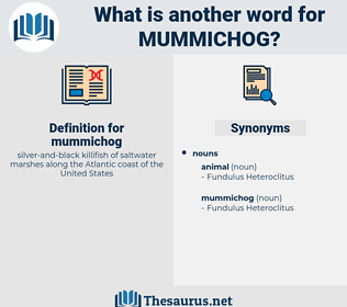 mummichog, synonym mummichog, another word for mummichog, words like mummichog, thesaurus mummichog