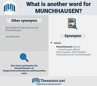 munchhausen, synonym munchhausen, another word for munchhausen, words like munchhausen, thesaurus munchhausen
