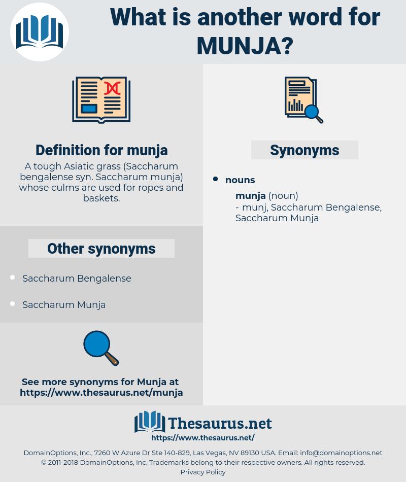 munja, synonym munja, another word for munja, words like munja, thesaurus munja