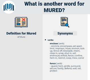 Mured, synonym Mured, another word for Mured, words like Mured, thesaurus Mured
