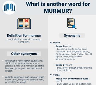 murmur, synonym murmur, another word for murmur, words like murmur, thesaurus murmur