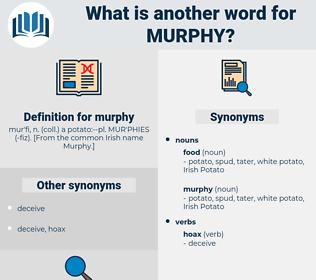 murphy, synonym murphy, another word for murphy, words like murphy, thesaurus murphy
