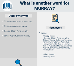 murray, synonym murray, another word for murray, words like murray, thesaurus murray