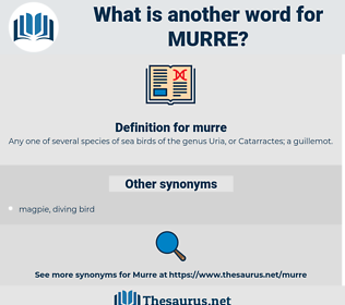 murre, synonym murre, another word for murre, words like murre, thesaurus murre