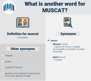 muscat, synonym muscat, another word for muscat, words like muscat, thesaurus muscat