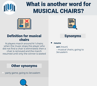 musical chairs, synonym musical chairs, another word for musical chairs, words like musical chairs, thesaurus musical chairs