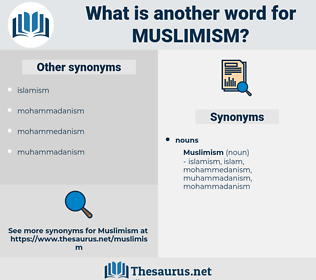 muslimism, synonym muslimism, another word for muslimism, words like muslimism, thesaurus muslimism