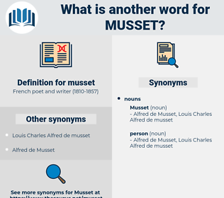 musset, synonym musset, another word for musset, words like musset, thesaurus musset