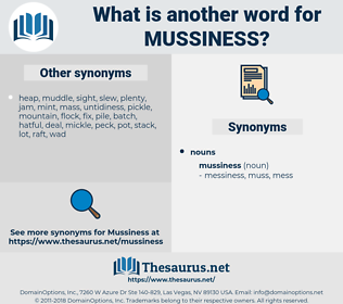 mussiness, synonym mussiness, another word for mussiness, words like mussiness, thesaurus mussiness