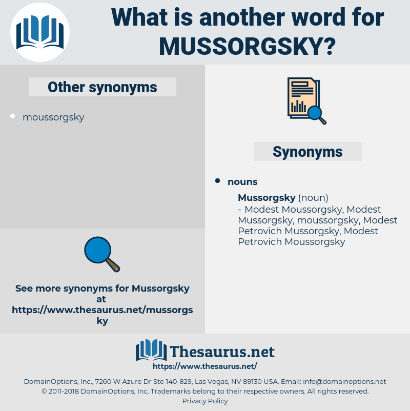 mussorgsky, synonym mussorgsky, another word for mussorgsky, words like mussorgsky, thesaurus mussorgsky