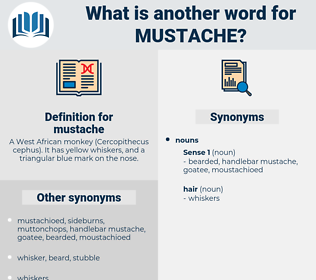 mustache, synonym mustache, another word for mustache, words like mustache, thesaurus mustache
