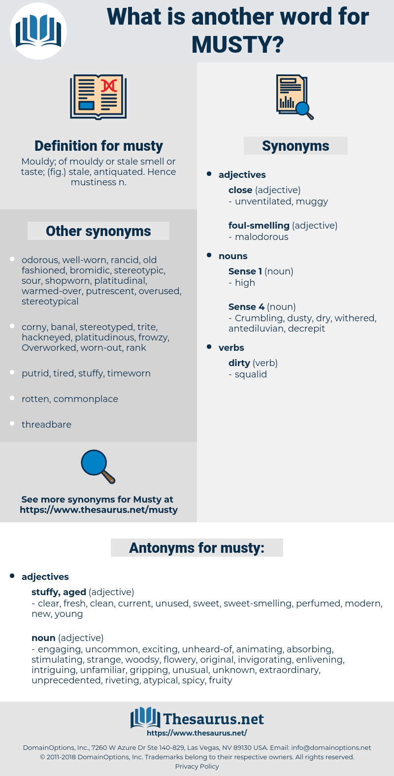 musty, synonym musty, another word for musty, words like musty, thesaurus musty