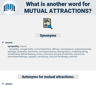 mutual attractions, synonym mutual attractions, another word for mutual attractions, words like mutual attractions, thesaurus mutual attractions