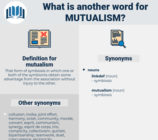 mutualism, synonym mutualism, another word for mutualism, words like mutualism, thesaurus mutualism