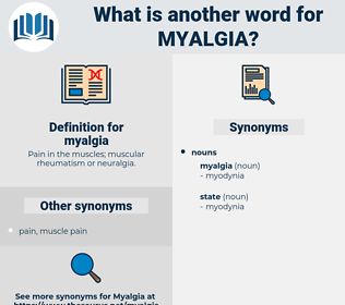 myalgia, synonym myalgia, another word for myalgia, words like myalgia, thesaurus myalgia