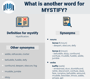mystify, synonym mystify, another word for mystify, words like mystify, thesaurus mystify