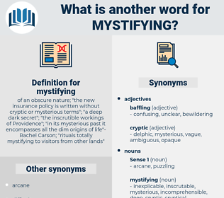 mystifying, synonym mystifying, another word for mystifying, words like mystifying, thesaurus mystifying