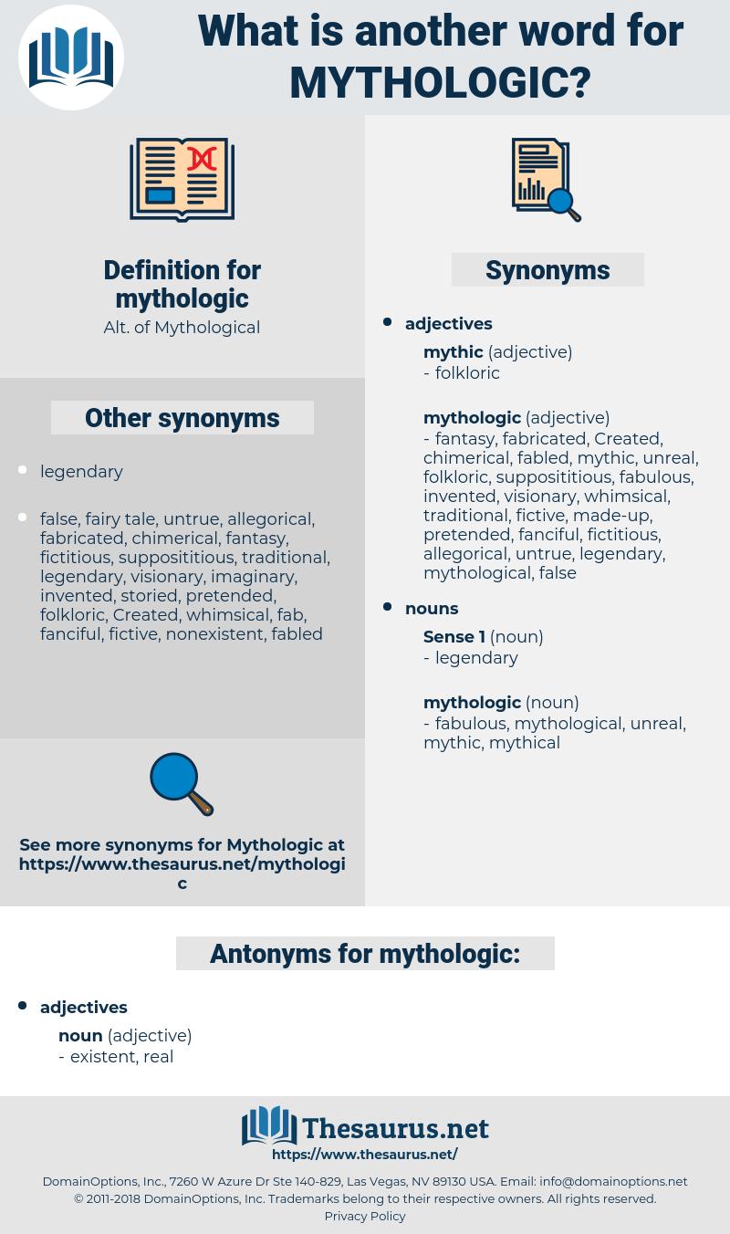 mythologic, synonym mythologic, another word for mythologic, words like mythologic, thesaurus mythologic