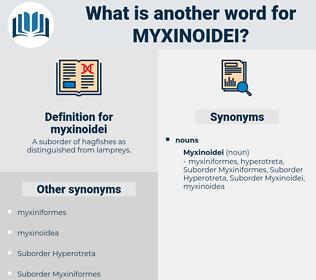 myxinoidei, synonym myxinoidei, another word for myxinoidei, words like myxinoidei, thesaurus myxinoidei