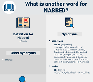 Nabbed, synonym Nabbed, another word for Nabbed, words like Nabbed, thesaurus Nabbed
