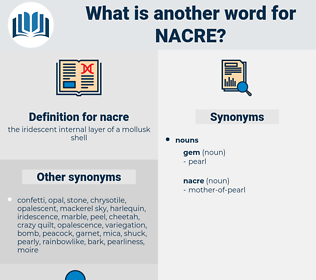 nacre, synonym nacre, another word for nacre, words like nacre, thesaurus nacre