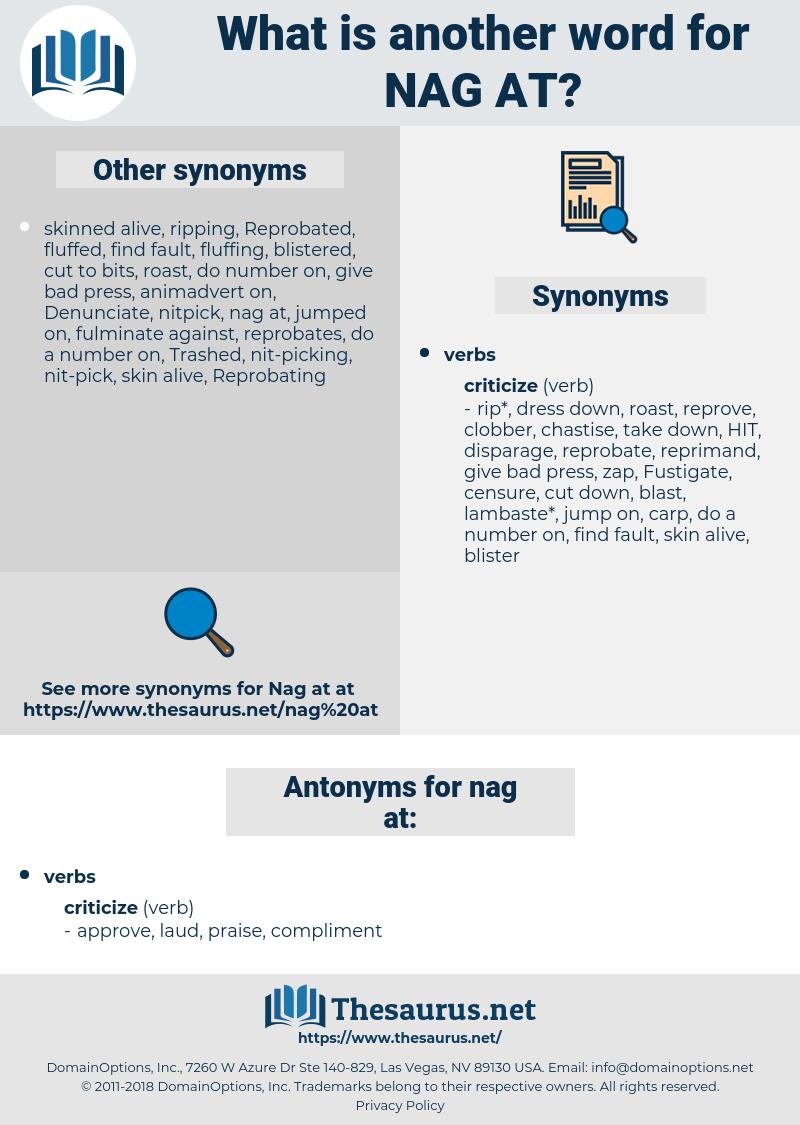 nag at, synonym nag at, another word for nag at, words like nag at, thesaurus nag at