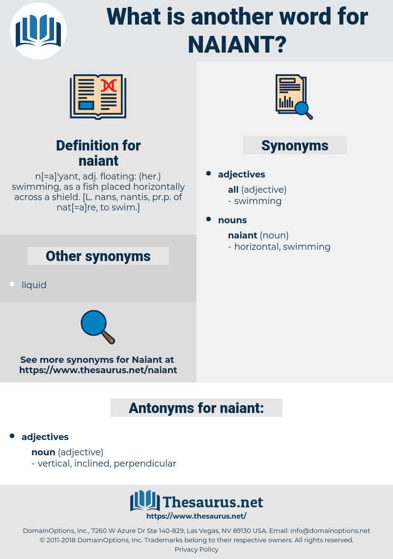 naiant, synonym naiant, another word for naiant, words like naiant, thesaurus naiant