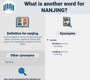 nanjing, synonym nanjing, another word for nanjing, words like nanjing, thesaurus nanjing