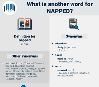 napped, synonym napped, another word for napped, words like napped, thesaurus napped