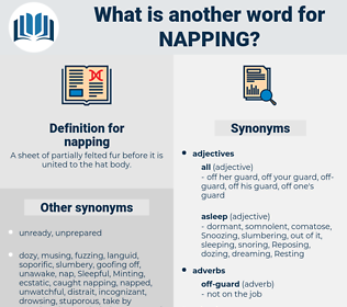 napping, synonym napping, another word for napping, words like napping, thesaurus napping