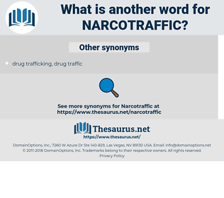 narcotraffic, synonym narcotraffic, another word for narcotraffic, words like narcotraffic, thesaurus narcotraffic