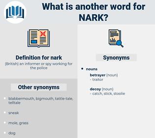 nark, synonym nark, another word for nark, words like nark, thesaurus nark