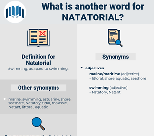 Natatorial, synonym Natatorial, another word for Natatorial, words like Natatorial, thesaurus Natatorial
