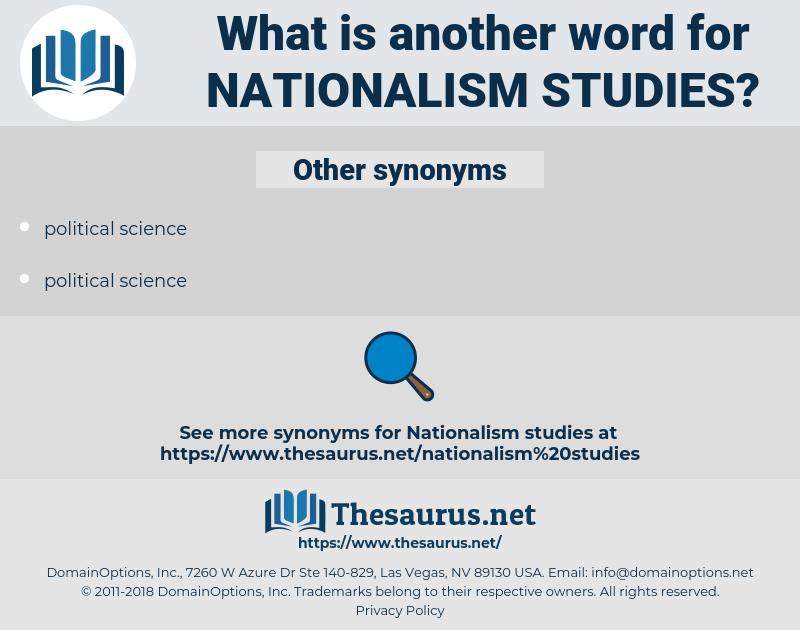 nationalism studies, synonym nationalism studies, another word for nationalism studies, words like nationalism studies, thesaurus nationalism studies