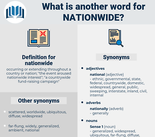 nationwide, synonym nationwide, another word for nationwide, words like nationwide, thesaurus nationwide