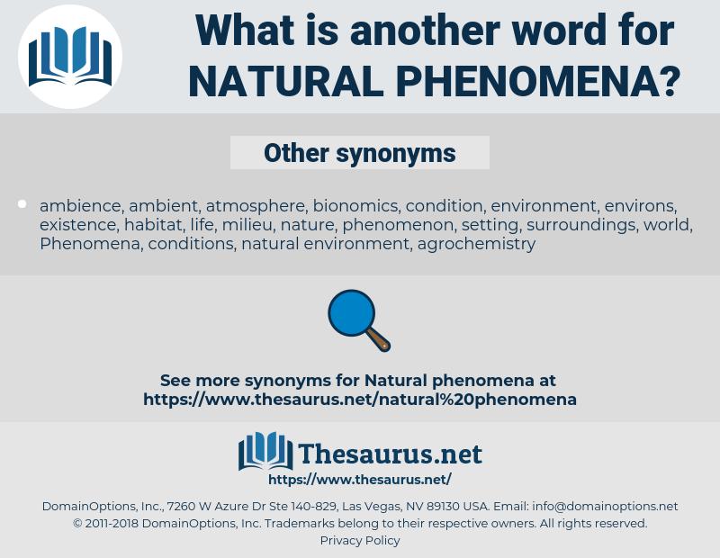 natural phenomena, synonym natural phenomena, another word for natural phenomena, words like natural phenomena, thesaurus natural phenomena