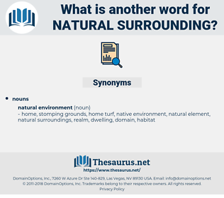 natural surrounding, synonym natural surrounding, another word for natural surrounding, words like natural surrounding, thesaurus natural surrounding