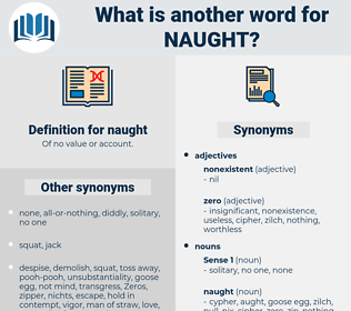 naught, synonym naught, another word for naught, words like naught, thesaurus naught