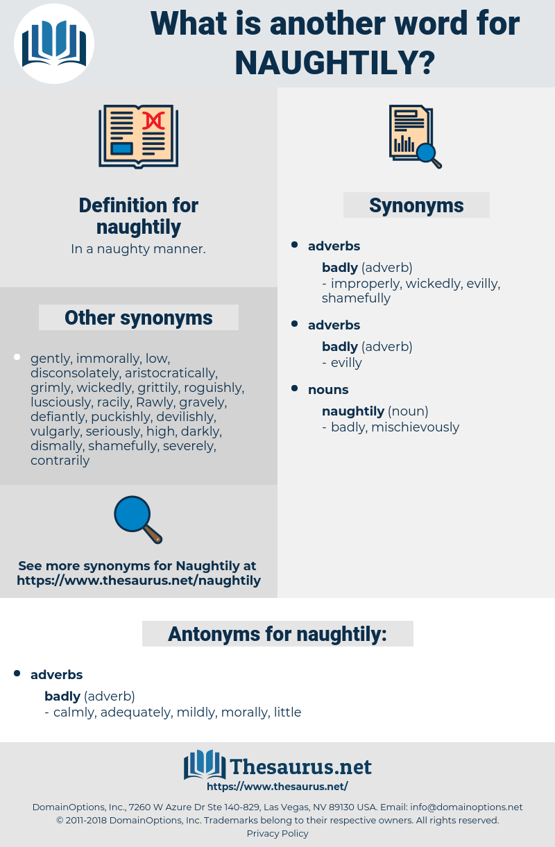 naughtily, synonym naughtily, another word for naughtily, words like naughtily, thesaurus naughtily