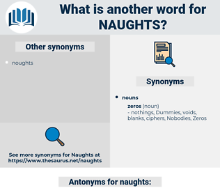 naughts, synonym naughts, another word for naughts, words like naughts, thesaurus naughts