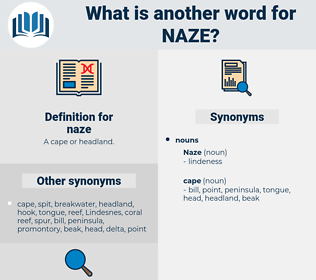 naze, synonym naze, another word for naze, words like naze, thesaurus naze