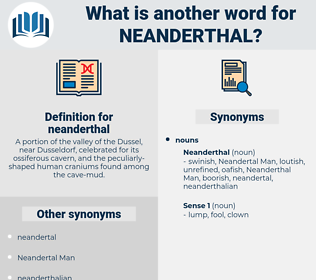 neanderthal, synonym neanderthal, another word for neanderthal, words like neanderthal, thesaurus neanderthal